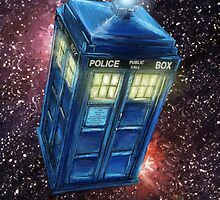 TARDIS FanArt - Doctor Who by gaactic