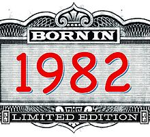 Born In 1982 - Limited Edition by Cleave