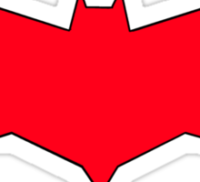 Jason Todd Inspired- Red Hood Symbol Sticker