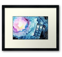 Within the Vortex Framed Print