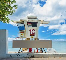 Lifeguard Stand 1 by Leigh Anne Meeks