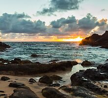 Halona Cove Sunrise 2 by Leigh Anne Meeks