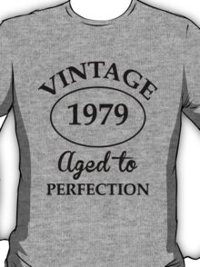 vintage 1979 aged to perfection T-Shirt