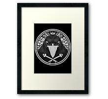 Storm Crow ! Framed Print