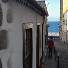 Street in Santa Cruz de la Palma by Aleksandra Misic