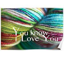 Love Yarn Poster