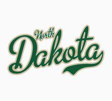 North Dakota Script Green by Carolina Swagger