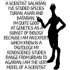 I am the very model of a scientist salarian  by nimbusnought