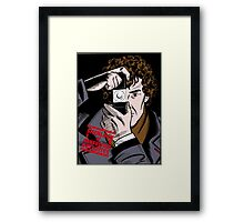 Sherlock The Consulting Detective Framed Print