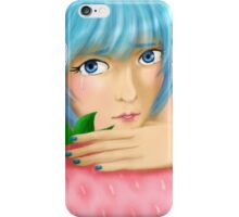 Tears of a Demon Girl iPhone Case/Skin