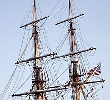 Tall Ship Rigging by pjphoto181