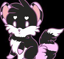 Deli-Fox Raspberry Licorice Swirl by cheonnsaa