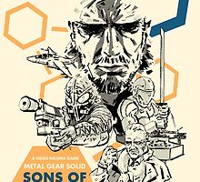 Metal Gear Solid 2: Sons of Liberty by Cleanlined