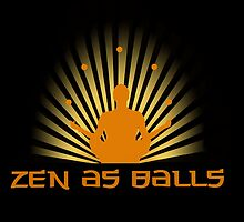 """Zen as balls"" by Elizabeth Probert"