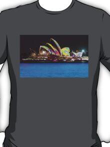 Blue Water, colour sails T-Shirt
