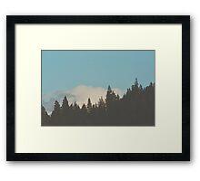 Hood River Skyline Framed Print