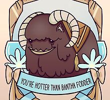 You're Hotter than Bantha Fodder by Ennemme