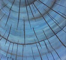 Blue wood by rosiec