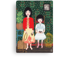 A Tale of Two Sisters 장화, 홍련 Canvas Print