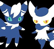 #678 Meowstic by VakarianWrex