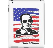 Hunter .S. Thompson. iPad Case/Skin