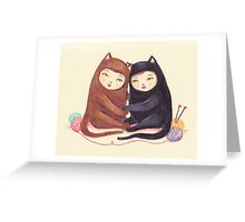 The Love Cats Greeting Card