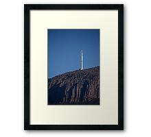Mt Wellington, Hobart, Tasmania Framed Print