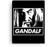 Obey Gandalf Canvas Print