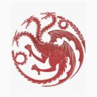 Game of Thrones House Targaryen  by mnzero