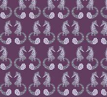 Feelin' Foxy - Purple by lottibrown