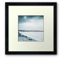 Baltic Sea, Zingst, Germany Framed Print
