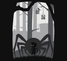 LIMBO spider boy LOST game by KokoBlacksquare