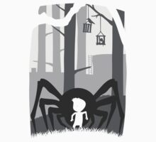 LIMBO spider boy LOST game Kids Clothes