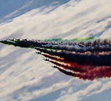 Frecce Tricolori by J Biggadike