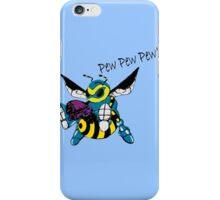 pew pew pew BEE! iPhone Case/Skin