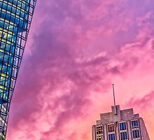 DB-Tower and Adlon Hotel by novopics