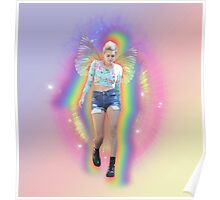 Fairy Miley Aura Rainbow Poster