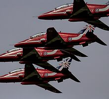 The Red Arrows by James Biggadike
