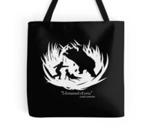 I Dreamed Of You (in white) Tote Bag