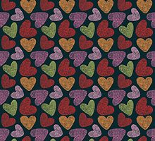 Heart pattern by Mistra