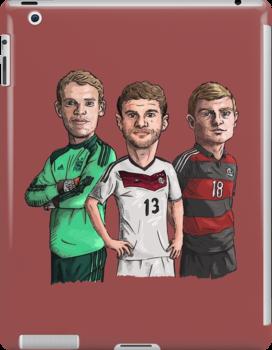 Germany - World cup winners by Ben Farr
