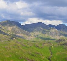 The Lake District: Scafell Range by Rob Parsons