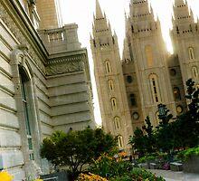 SLC LDS Temple Tilt by LaRae55