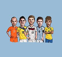 World Cup Stars by Ben Farr