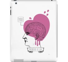 Phrenology of Love iPad Case/Skin