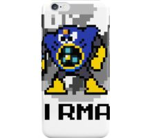 Airman with text (Black) iPhone Case/Skin