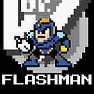 Flashman with text (White) by Funkymunkey