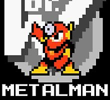 Metalman with text (White) by Funkymunkey