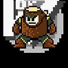 Woodman with text (Black) by Funkymunkey