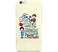 "The Fault In Our Stars (TFIOS) - ""I'm In Love With You..."" iPhone Case/Skin"